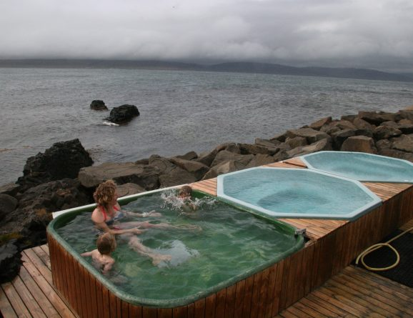 iceland s best hot pots and pools outdoor swimming society outdoor rh outdoorswimmingsociety com Northern Lights Iceland Northern Lights Iceland