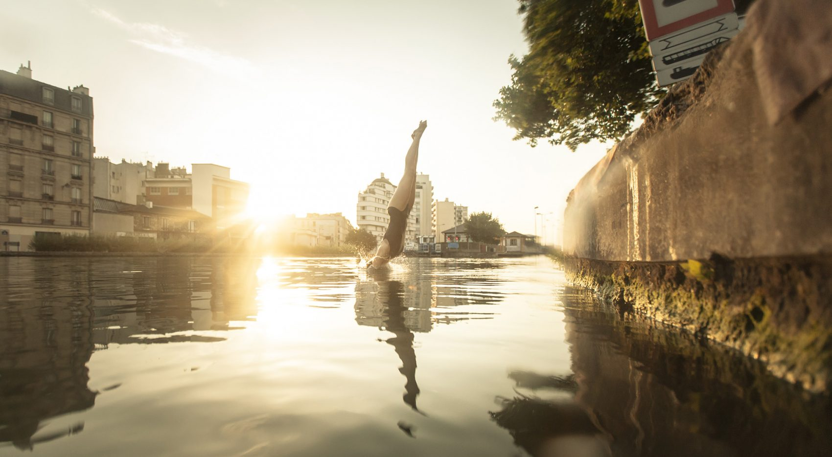 Paris wild swimming urban adventures outdoor swimming for Swimming in paris