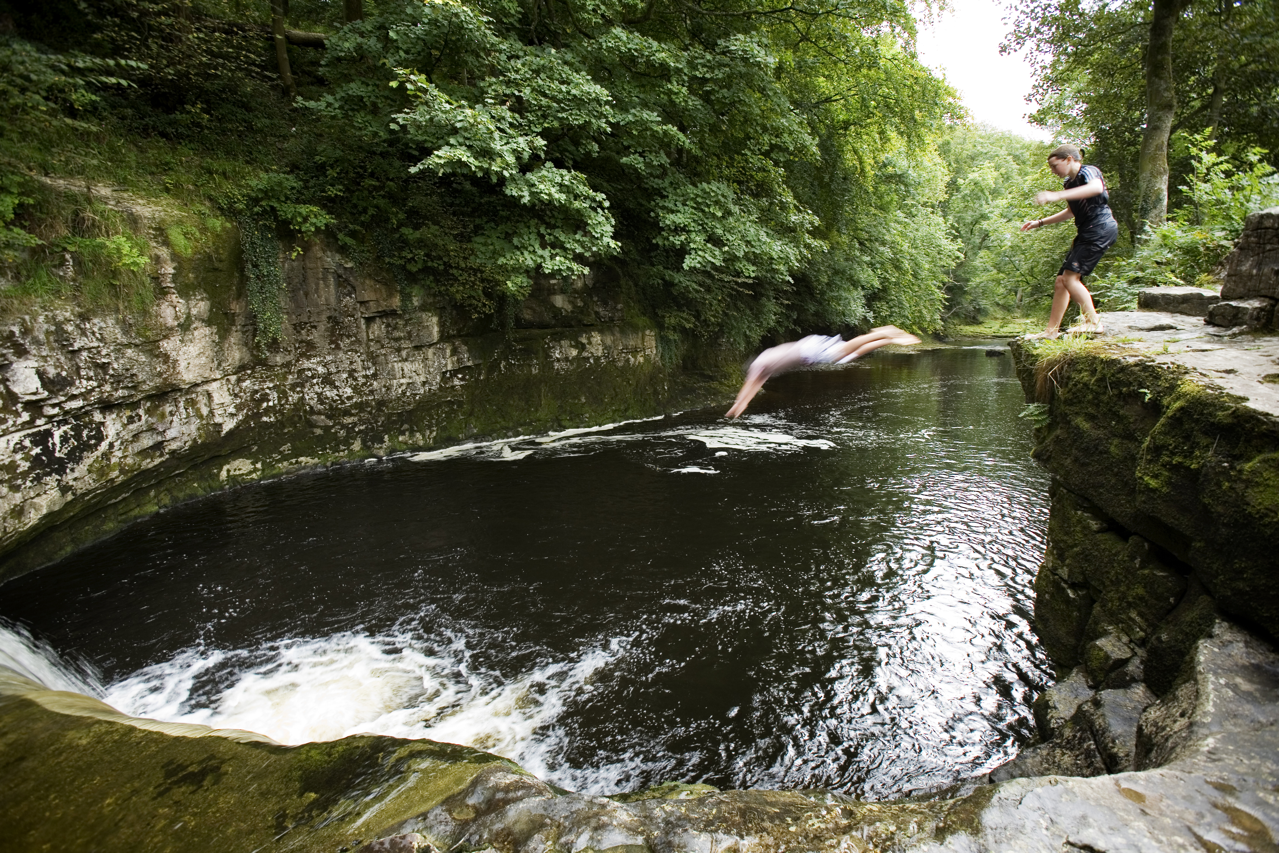 Do not swim against the stream, do not swim with the stream, swim where you want 69