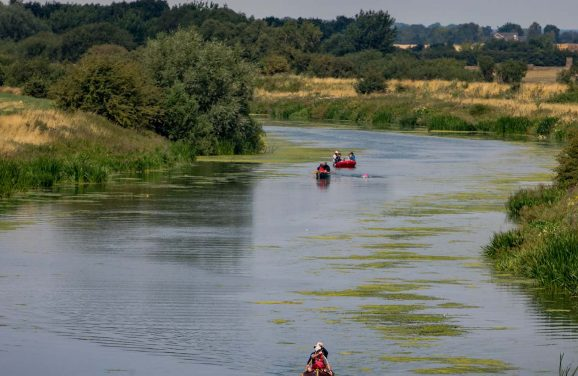 From Spire to Stump: 31 mile swim down River Witham